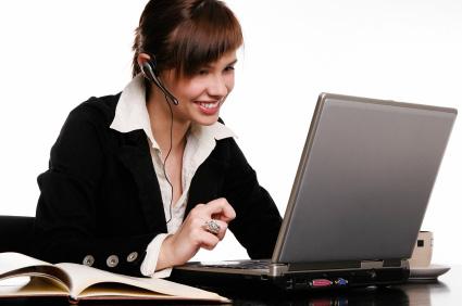 En del jobb inom kundtjänst möjliggör distansarbete hemifrån